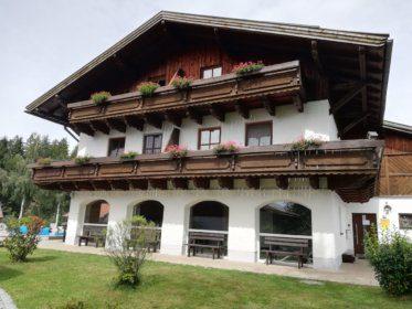 Haus mit der Wohnung