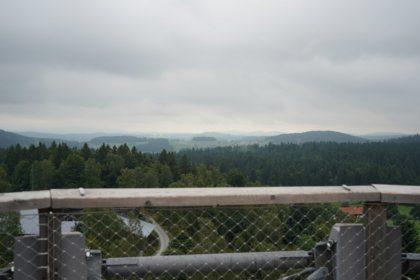 Ausblick vom Aussichtsturm