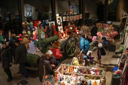 Christkindlmarkt bei der Granitweihnacht