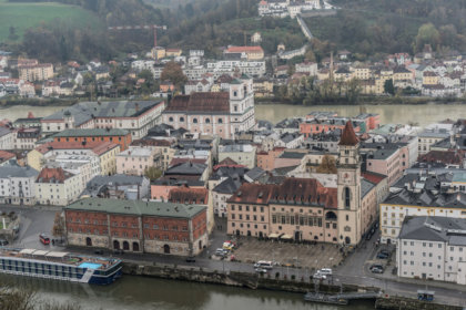 Blick über Passau
