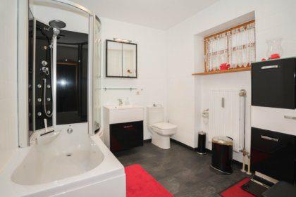 Badezimmer mit Dusch-Badewanne