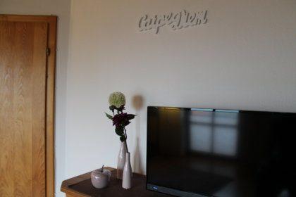 TV Gerät im Wohnzimmer